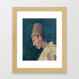 Osman Hamdi Bey Kökenoğlu Rıza Efendi Framed Art Print