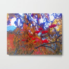 Autumn day Metal Print
