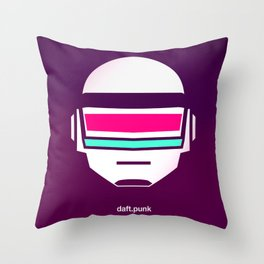 Daft Punk Throw Pillow