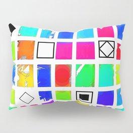 Square and Rhombus Pillow Sham