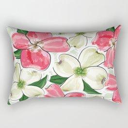 the dogwood Rectangular Pillow