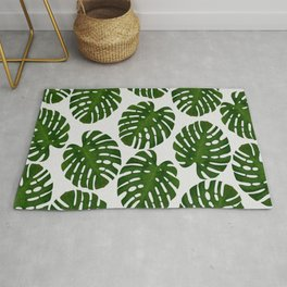 Monstera Leaf III Rug