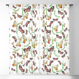 Butterfly Woodland Blackout Curtain