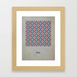 Feral Framed Art Print