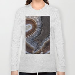 "Agate crystal texture #2 ""more detail"" Long Sleeve T-shirt"