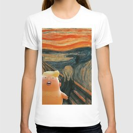 Trump Baby & The Scream T-shirt