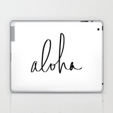 Aloha Hawaii Typography Laptop & iPad Skin