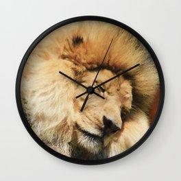 Sleeping Beast Wall Clock