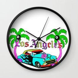 L0S ANGELES Wall Clock