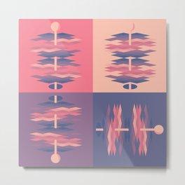 Argile Dimensions Metal Print