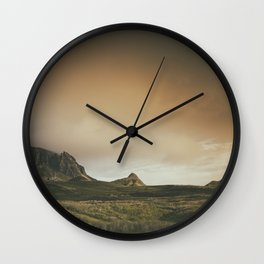 Mesmerized By the Quiraing V Wall Clock