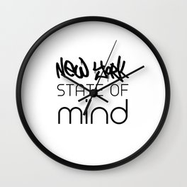 NY State of Mind Wall Clock