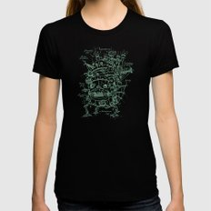 Chateau Ambulant SMALL Black Womens Fitted Tee