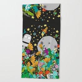 Fantasy kids world Beach Towel