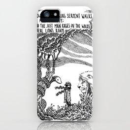 William Blake Illustration iPhone Case