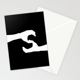 Letter S (Noire) - GoldShade Stationery Cards