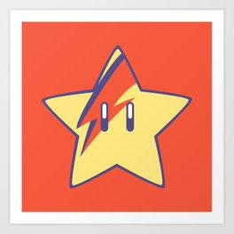 Super Stardust Art Print