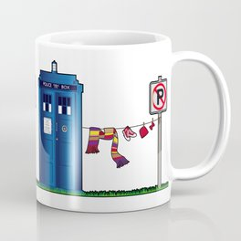 Doctor Who: tardis wardrobe  Coffee Mug