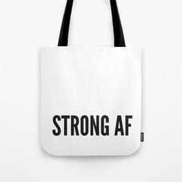 Strong AF Tote Bag