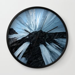 Sharp Cold Wall Clock