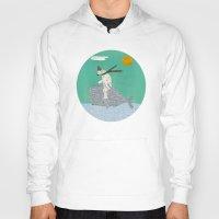 sailing Hoodies featuring sailing by bri.buckley