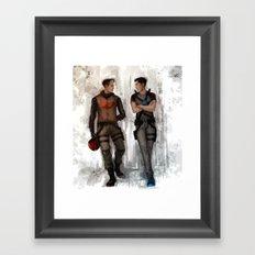 RedHood  Agent37 Framed Art Print