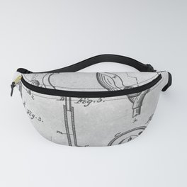 Urinal bowl Fanny Pack