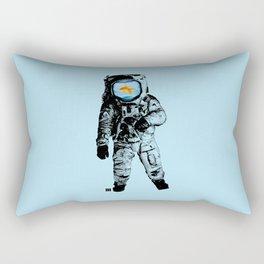 Goldfish Astronaut Rectangular Pillow