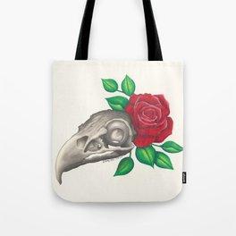 Vulture Skull Tote Bag