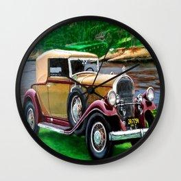 CAR # 2 Wall Clock