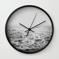 infinity Wall Clocks featuring Infinity by Leah Flores
