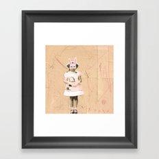 Imaginary Friends- Bunny Framed Art Print