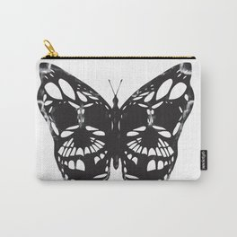 Butterfly skulls Carry-All Pouch