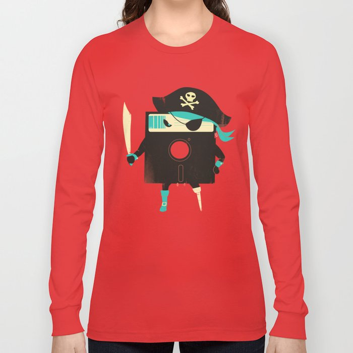 Software Pirate Long Sleeve T-shirt