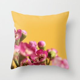 016 Flower Throw Pillow