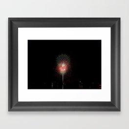 Fireworks make you wanna... (2) Framed Art Print