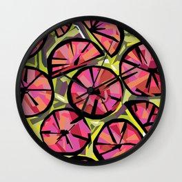 Candy Citrus Wall Clock