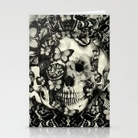victorian Stationery Cards featuring Victorian Gothic by Kristy Patterson Design