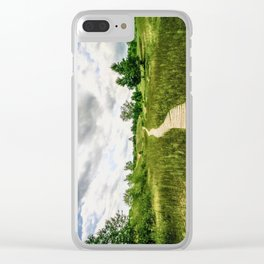 Kohler Andrae Landscape Clear iPhone Case