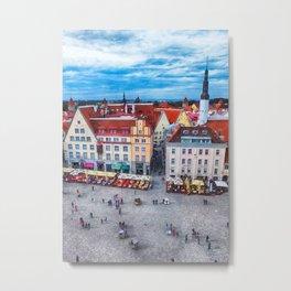 Tallinn art 10 #tallinn #city Metal Print