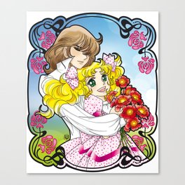 Candy & Terence Canvas Print
