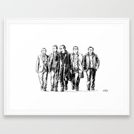 The World's End Framed Art Print