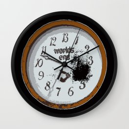 Worlds End Wall Clock