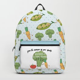 Vegetarian macarena Backpack