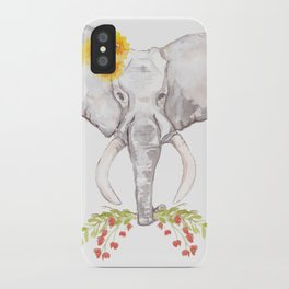 welcoming elephant iPhone Case