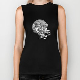 Football Helmet Biker Tank