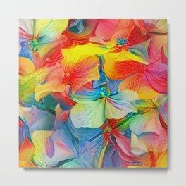 Flower Fantasy - Hydrangea Metal Print