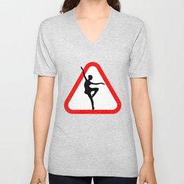 Attention Dancer Unisex V-Neck