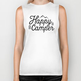 Happy Camper Biker Tank