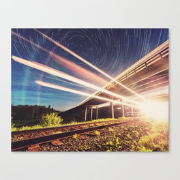 'Midnight Train to Georgia' Canvas Print
